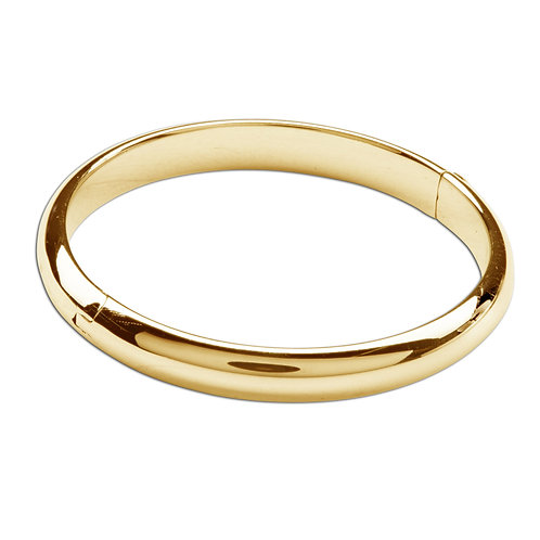 GP-Bangle (Classic) ~14K Gold Plated Bangle Bracelet