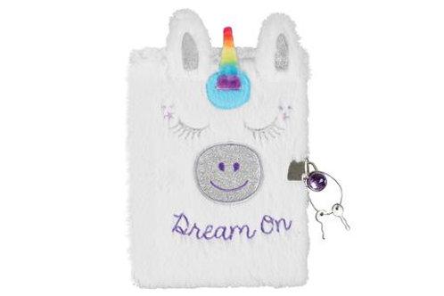 Unicorn Fuzzy Diary and Marabou Pen