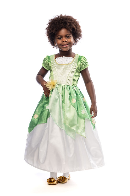 Classic Lily Pad Princess Gown