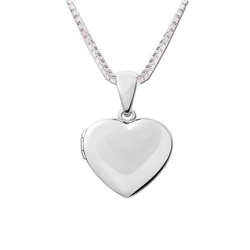 Sterling Silver Children's Heart Locket