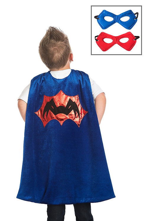 Spider Cape and Mask Set