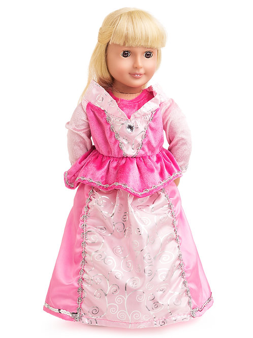 "18"" Doll Sleeping Beauty Gown"