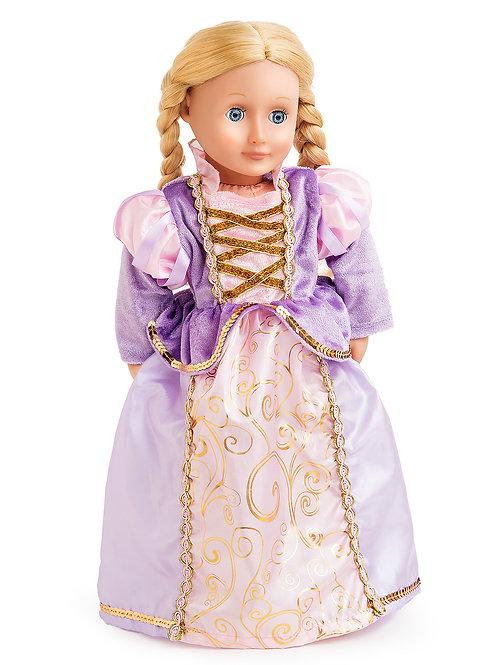 "18"" Doll Rapunzel Princess Gown"