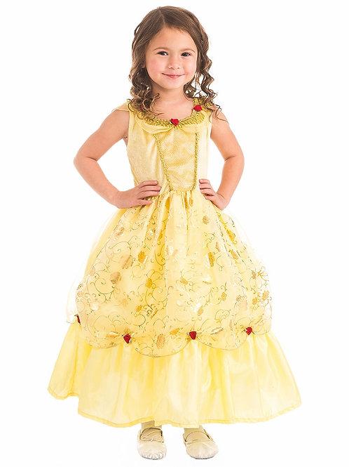Yellow Beauty Princess Dress