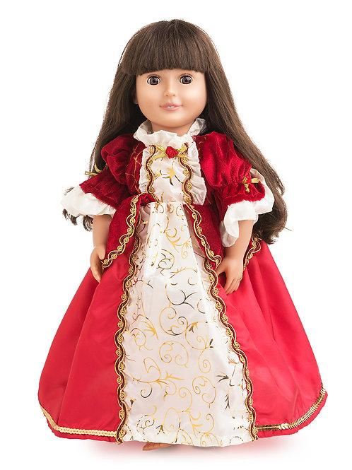 "18"" Doll Winter Beauty Gown"