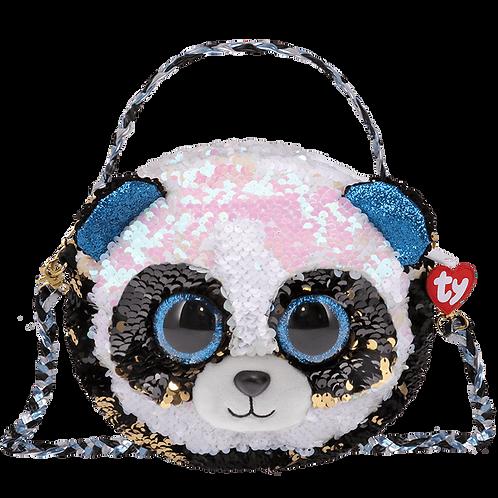Bamboo Panda Sequin Fashion Purse