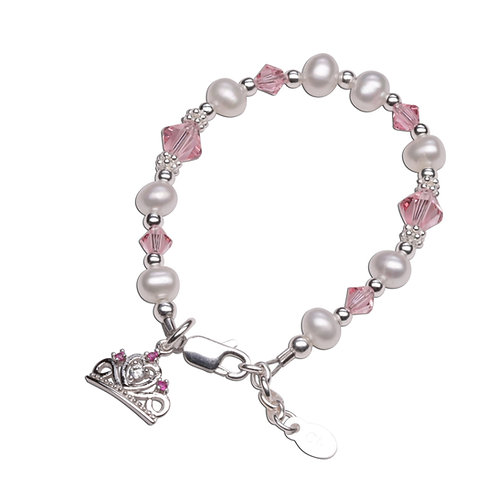 Enchanted Princess - Sterling Silver Princess Bracelet