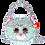 Thumbnail: Whimsy Cat Sequin Fashion Purse