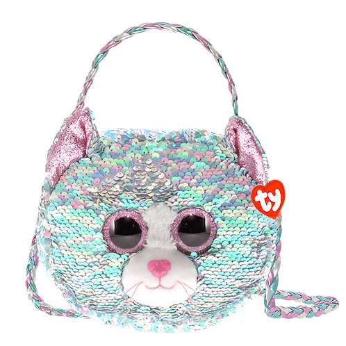 Whimsy Cat Sequin Fashion Purse