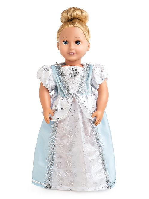 "18"" Doll Cinderella Gown"