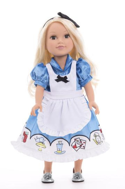 "18"" Doll Alice Dress"