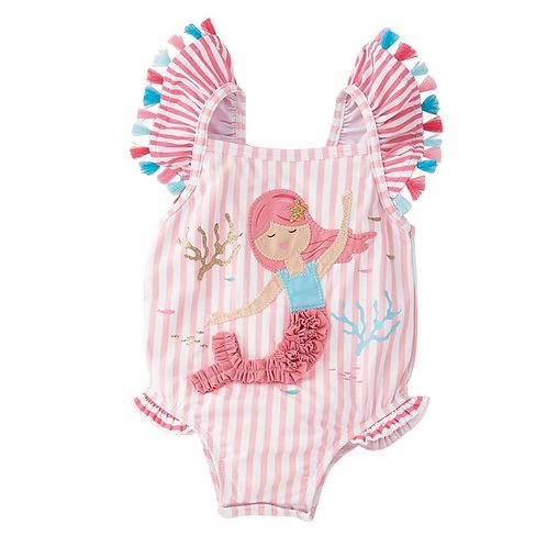Mermaid Tassel One Piece Swimsuit