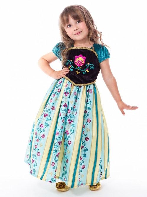 Scandinavian Princess Coronation Gown