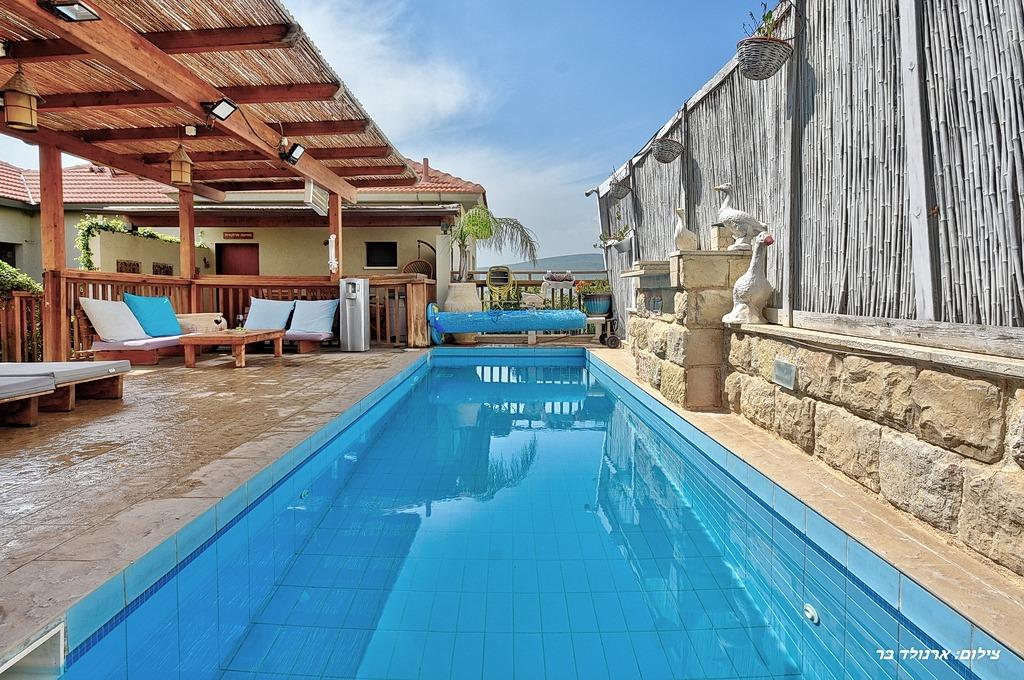 קארמה בגולן מתחם הבריכה