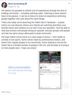 מידות ואורך סרטוני וידאו לפייסבוק ואינסטגרם