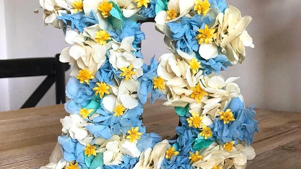 Letras de Flores