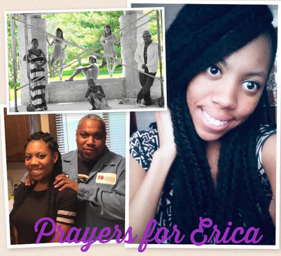 Prayers for Erica