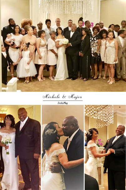 Major Alford weds Michele Hassan