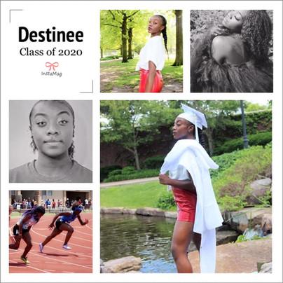 Graduate Destinee Lowe
