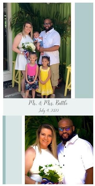 Nicolas Battle weds Caitlin Lukasik