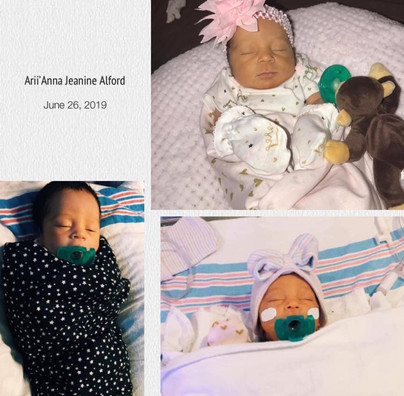 Birth of Arii'Anna Jeanine Alford