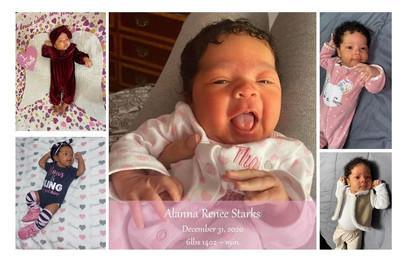Birth of Alanna Renee Starks