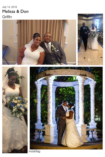 Newlyweds Melissa & Don Griffin