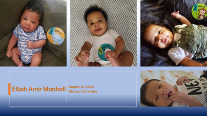 Birth of Elijah Amir Marshall