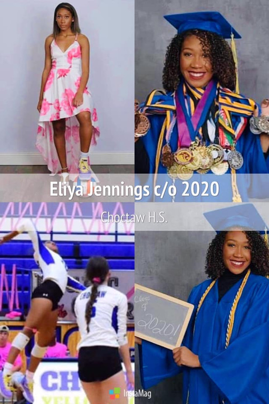 Graduate Eliya Jennings