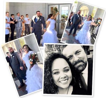Stephanie A. Morgan and Thomas Engstrom Wed