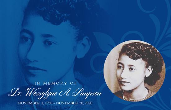 Langston University Remembers Dr. Wessylyne Alford-Simpson