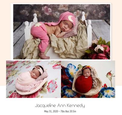 New Arrival Jacqueline Ann Kennedy