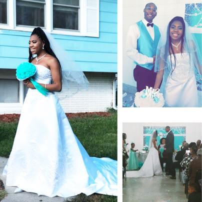 Erica Robinson weds Jalen Murphy