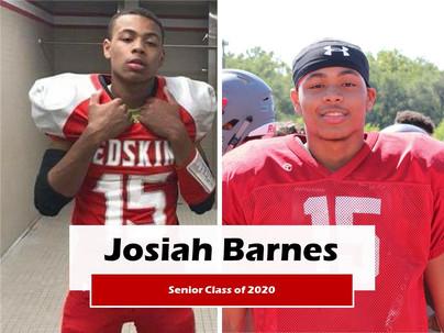 Graduate Josiah Barnes