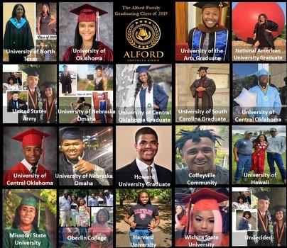 The 2019 Alford Graduating Class