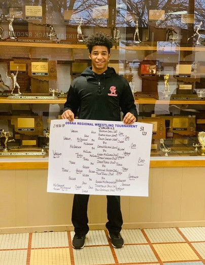 All State Wrestler Jayston Cato