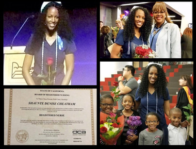 Our Graduate Shaunte Denise Cheatham