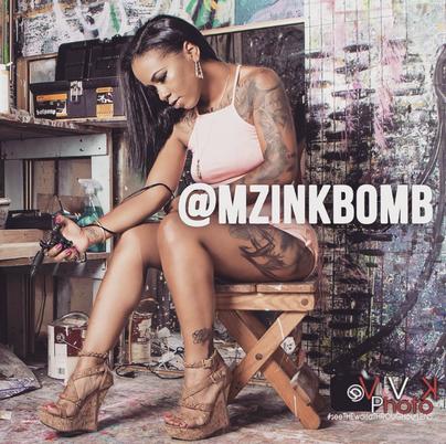 Meet Miika (Mz.Inkbomb) Coffey out of Inglewood Ca