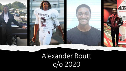 Graduate Alexander Routt