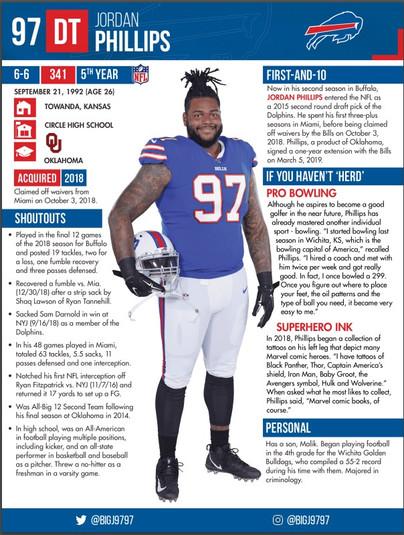 Buffalo Bills Jordan Phillips