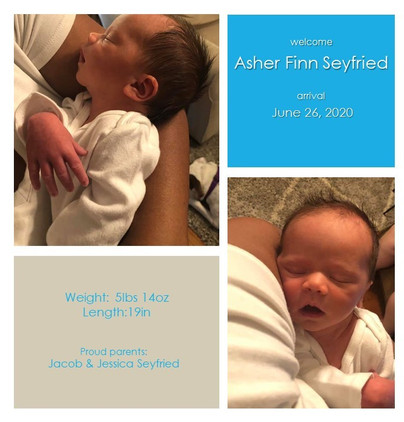 Birth of Asher Finn Seyfried