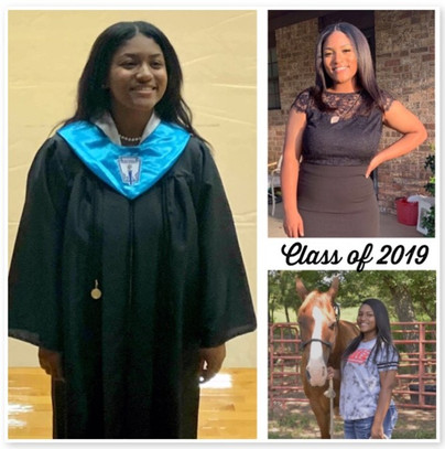 Donyé Alford Graduates
