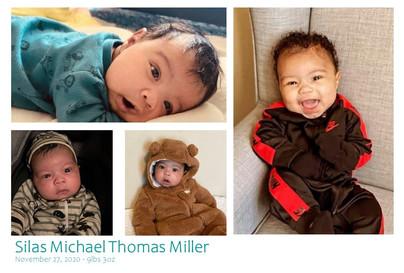 Birth of Silas Michael Thomas Miller