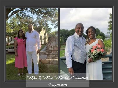 Introducing Mr. & Mrs. Michael Downin