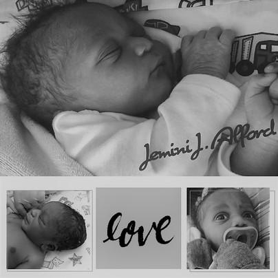 Birth of Jemini Joseff Alford