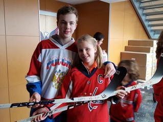 Хоккейная гордость «Олимпа»