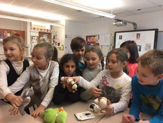 Литературная гостиная «В гостях у детских писателей»