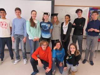 Лингвистический брейн-ринг в 7 классе