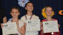Церемония награждения участников конкурсов