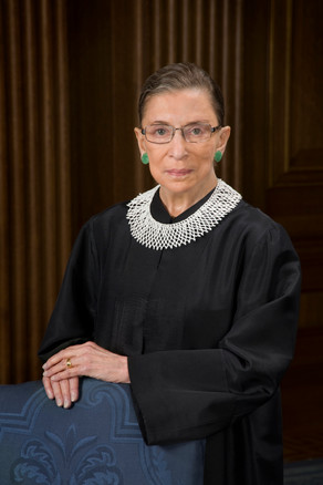Justice Ruth Bader Ginsburg Makes Final Trip To The Supreme Court